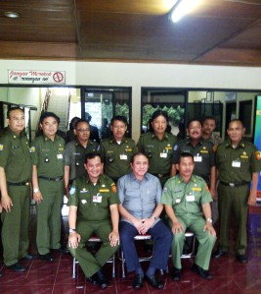 Bersama Camat, Wkl Camat, Sekcam n 5 Lurah di MP